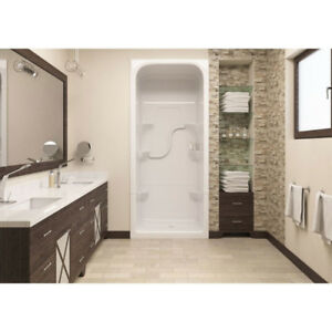 Mirolin SH3R Madison 3 One Piece Shower Stall White