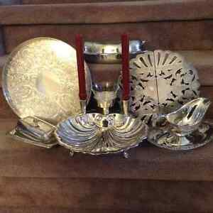 Set Table withThe Elegance of silver - 6/$100.00 or $25.00 ea