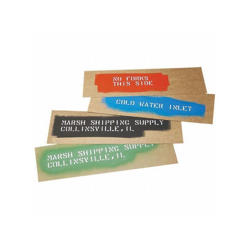 """Box Packaging Marsh Oil Board, 6.50"""" x 20"""" 720/Case"""