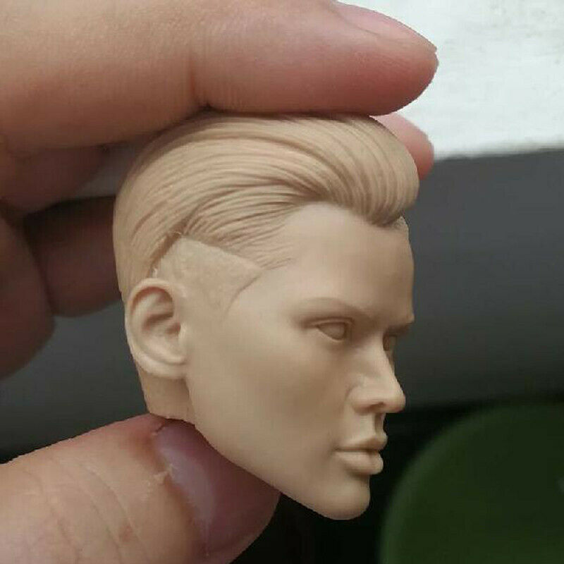 "Blank 1//12 Scale The xXx Beauty Ruby Rose Head Sculpt Unpainted Fit 6/"" ML Figure"