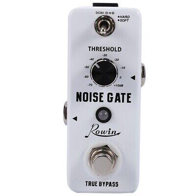 Rowin Guitar Noise Killer Noise Gate Suppressor Effect Pedal Z8V3