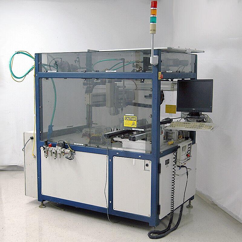 Adept Technology 3-Axis Fluid Dispensing Cartesian Robot Cell with Controller