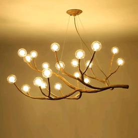 Real wooden chandelier , wooden chandelier ,chandelier ,lamp,natural