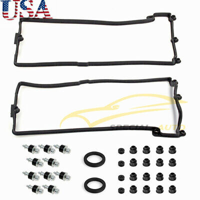 FOR BMW 545i,550i,645Ci,650i,745Li Engine Valve Cover Gasket Set LEFT & RIGHT US