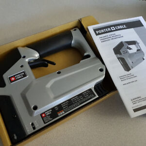 Brand NEW In Box Porter Cable Crown Stapler