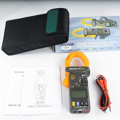 1pc Clamp Power Meter Prova-6600 Three-phase Clamp Power Meter