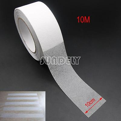 Transparent 4 Anti Slip Tape Stair Tread 33ft Length Grip Self Adhesive Backed