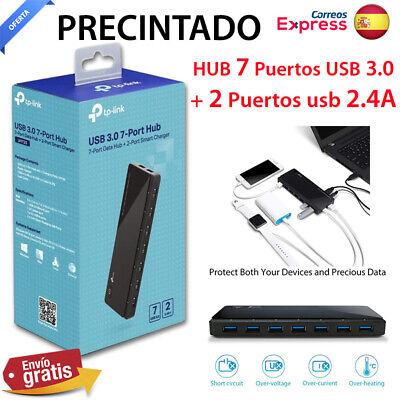 TP-Link UH720 Hub 7 Puertos USB 3.0 + 2 Puertos de carga...