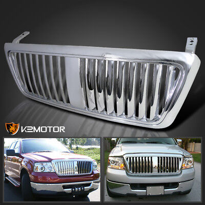 2004-2008 Ford F150 F-150 Vertical Grill Grille Chrome