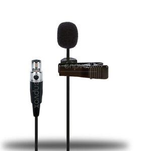 Tie Clip Lavalier Lapel Microphone For AKG WMS SR PT 450 470 420 4500 Wireless