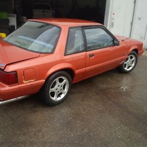 1989 mustang 5.0L 5spd coupe