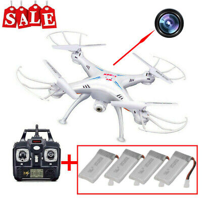 X5C-1 6-Axis RC Quadcopter Drone 2.4Ghz with 2.0M HD Camera (Battrey optional)