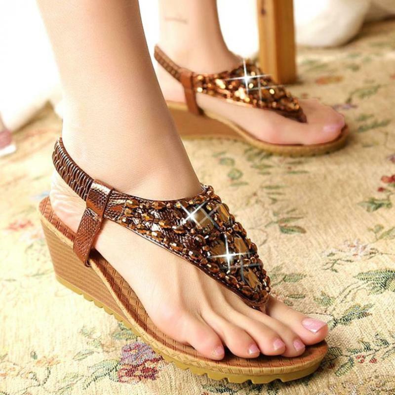 BADGLEY MISCHKA Black Thong Sandals Flip Flops Shoes