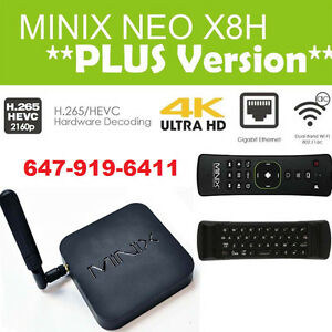 ★Android,IPTV, KODI★Minix X8-H Plus, Minix U1, Fire TV, M8S+