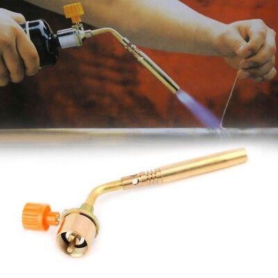 Portable Gas Turbo Torch Propane Brazing Plumbing Gun Fire Lighter Welding Tool