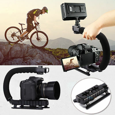 C/U shape Bracket Handle Grip Stabilizer for DSLR Camera Camcorder Video Canon
