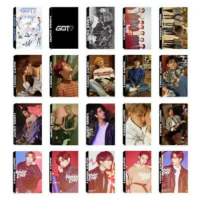 Lot of set cute KPOP GOT7 Personal Collective Photocard Poster Lomo Cards