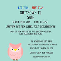 ***VENDORS NEEDED - OUTGROWN IT SALE