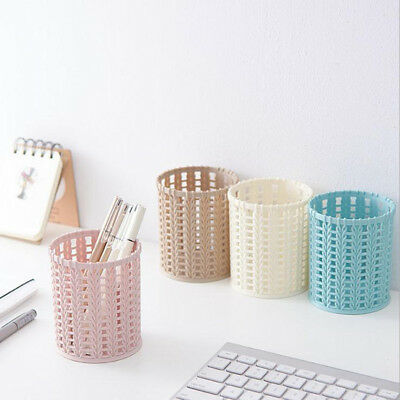 Multi-function Plastic Desktop Storage Box Cosmetic Holder Desk Pencil Organizer
