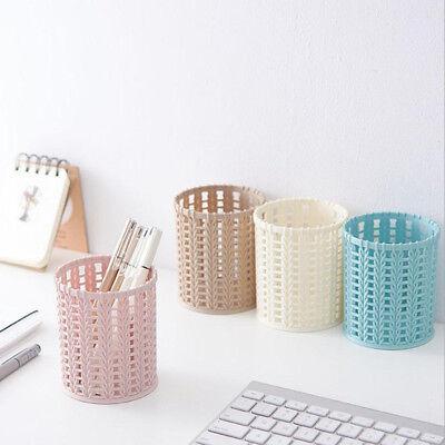Multi-function Plastic Desktop Storage Box Cosmetic Holder Desk Pencil Organizer