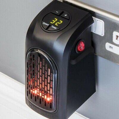 Mini Calentador Portátil Eléctrico Calefactor con termostato