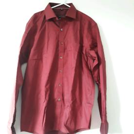 Clearance: Men's maroon shirt