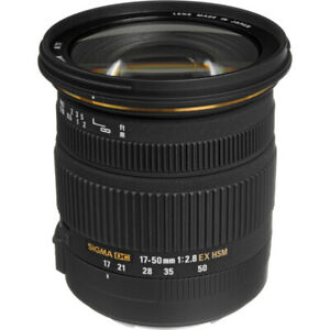 Selling Sigma 17-50mm (nikon compatible) Condition: 10/10