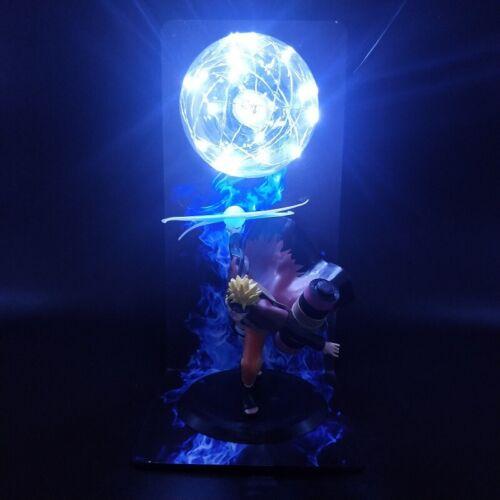 "Naruto Shippuden Uzumaki Senjutsu Wind Style Figure 14"" Blue LED Lamp Light"