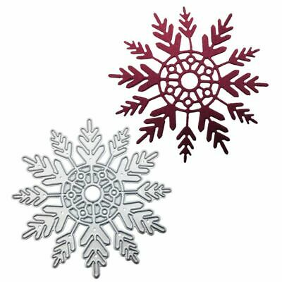 DIY Snowflake Metal Cutting Dies Stencil Scrapbooking Paper Card Christmas Decor - Diy Paper Christmas Decorations