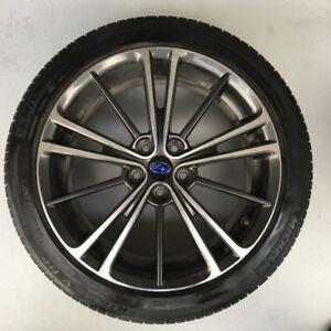 No scratch 17 inch Subaru / Toyota OEM 17x7 Rims + Tires