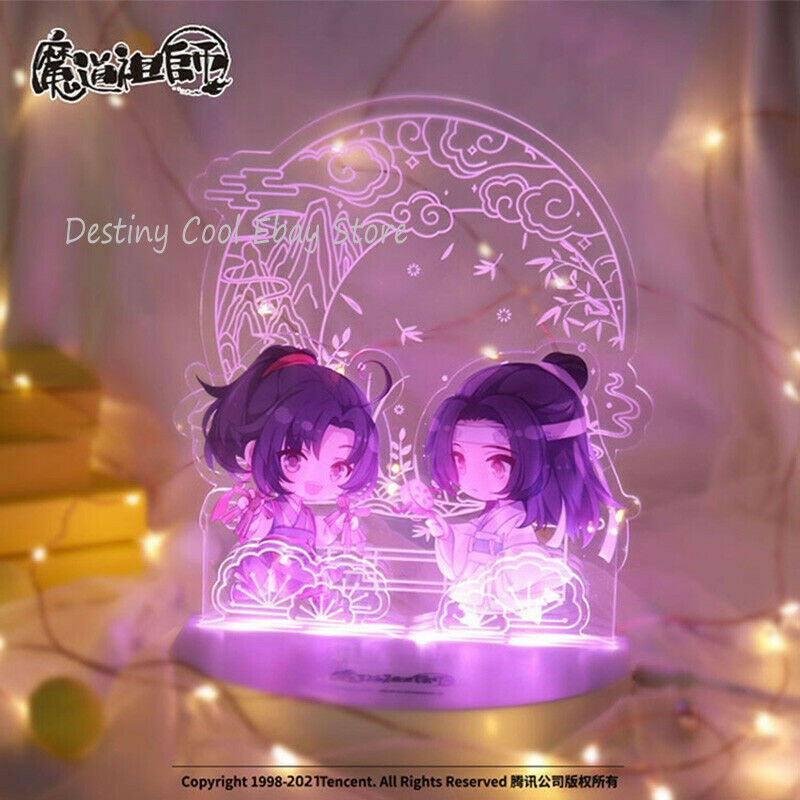 MODAOZUSHI Grandmaster of Demonic Cultivation Langwangji Weiwuxian Acrylic Light