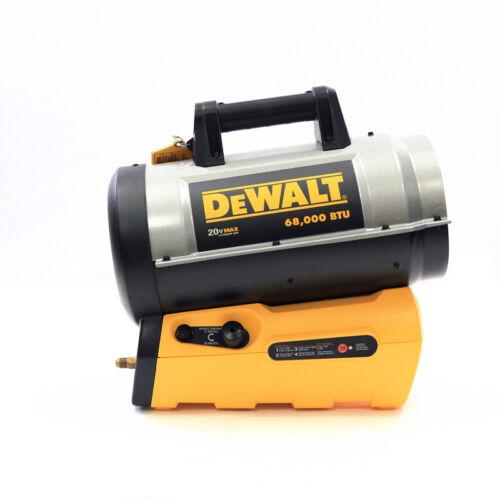 DeWalt 68000 BTU/hr. 1700 sq. ft. Forced Air Propane Heater