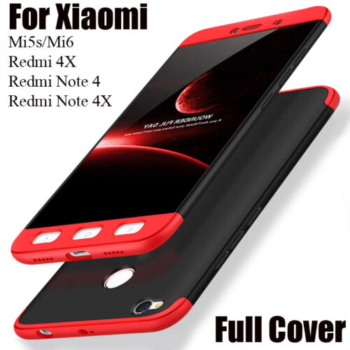 online store 809fc 48c7a Details about Phone Cases For Xiaomi Redmi 4X Note 4 4X Pro Mi5s Mi6 Case  Full Cover Housing