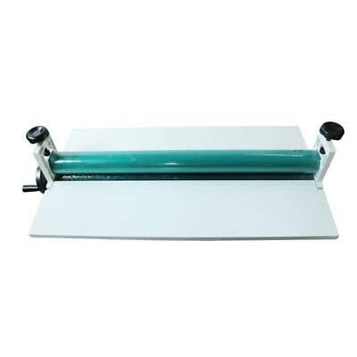 29 750 Manual Cold Roll Laminator Laminating Machine With Foldable Long Wing
