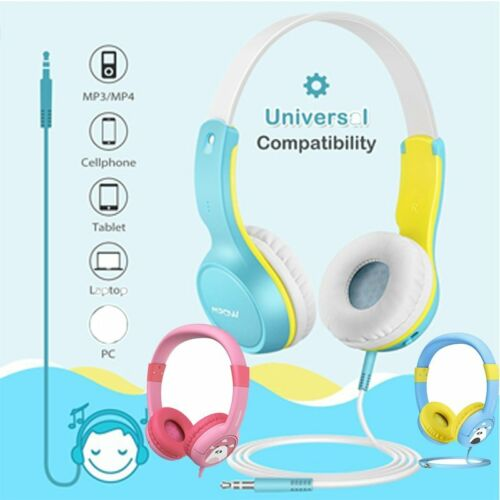 Mpow  wired On-Ear Headphones Earphones 85dB Headset for Chi