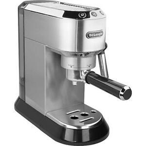 delonghi ec 680 m dedica espressomaschine kaffee siebtr ger 15 bar inkl 3 siebe. Black Bedroom Furniture Sets. Home Design Ideas