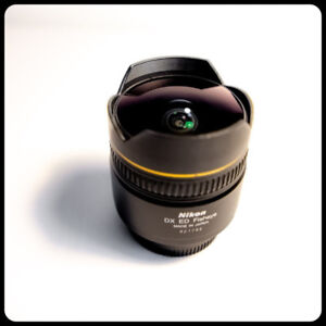 NIKON 10.5mm f2.8G AF-DX FISH EYE