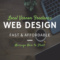 Affordable web design in Vernon