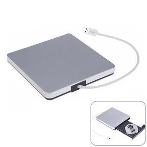 USB 3.0 LightScribe CD-RW DVD-RW DVD-ROM Brenner Externes Laufwerk für PC Laptop