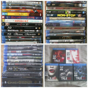 Blu-Ray Movies & TV Shows Brand New Sealed