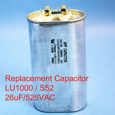 1000w Oil Filled Capacitor Hid Hps1000 Lu1000 S52 26uf525vac Ul Approved