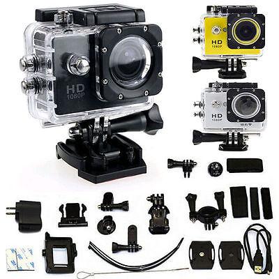 Wifi 12MP HD 1080P Car Bike Helmet Cam Sports DV Action Waterproof Camera SJ4000