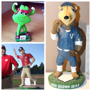 Buying: Vancouver Canadian bobblehead player mascot new or old