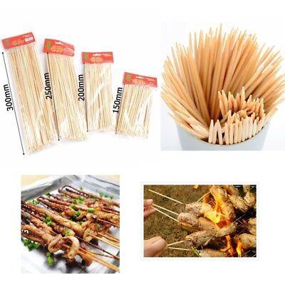 Bamboo Skewers Grill Shish Kabob Wood Sticks Barbecue 1 Pack BBQ (Bamboo Shish Kebab Skewers)