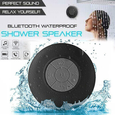Wasserdichter Bluetooth Wireless Duschlautsprecher Freisprech-Musik Mikrofon Saugwagen