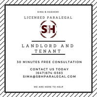 Landlord and Tenant Matters – Call us Today