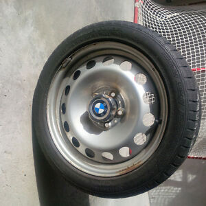 Contiwinter Contac Winter Tires and Rims - offers considered Kitchener / Waterloo Kitchener Area image 2