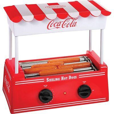 Coca-cola Series Electric Hot Dog Roller Bun Warmer Small Party Hotdog Maker