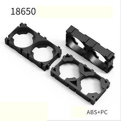6x Battery Spacer 2 18650 Radiating Shell EV Batteries Pack Plastic Heat Holder