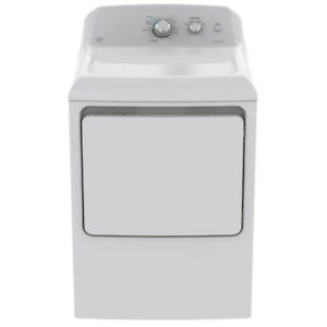 GE 7.2 cu.ft White Dryer with Sensor Dry Technology